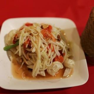 green papaya salad - Pathum Wan's Somtam Nua (Pathum Wan)|Bangkok