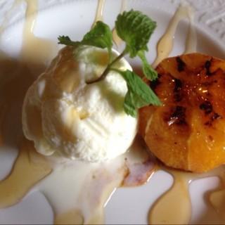 Grilled Orange and Vanilla Ice Cream -  dari Marcia Adams' Restaurant (Cavite) di Cavite |Other Provinces