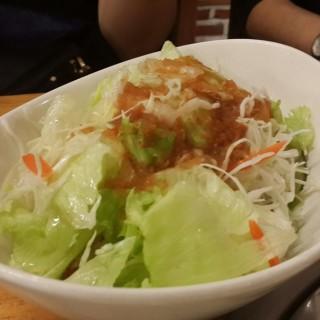 Korean Salad -  dari Tae Neng Galbi (Karawaci) di Karawaci |Jakarta