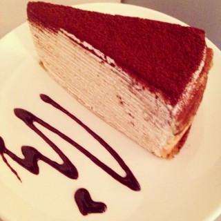 Tiramisu Mille Crepes! -  Ampang / Tea Time Bakery (Ampang)|Klang Valley