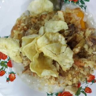 Bubur + Telur Ayam Kampung - Cikini's Bubur Ayam Cikini (Cikini)|Jakarta