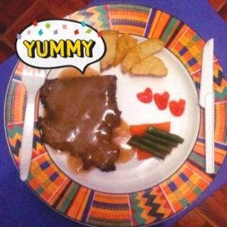 Beef Blackpepper -  dari Waroeng Steak & Shake (Yogyakarta Tengah) di Yogyakarta Tengah |Yogyakarta