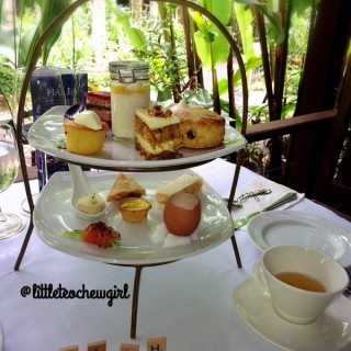 High Tea Set - Orchard's The Halia (Orchard)|Singapore