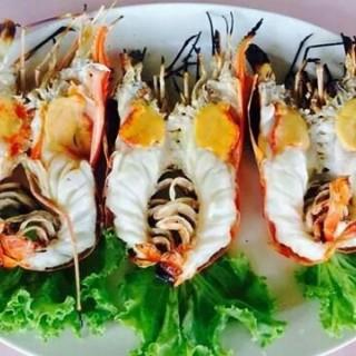 กุ้งเผา มันเยิ้ม - 位于สัมพันธวงศ์的Jim Jim Restaurant (สัมพันธวงศ์) | 曼谷