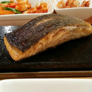 Grilled Salmon Fillet - Boon Lay's Chef's Noodle (Boon Lay)|Singapore