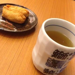 Lemon Ginger Inari Sushi x Green Tea -   / Ichiban Boshi (Woodlands)|Singapore