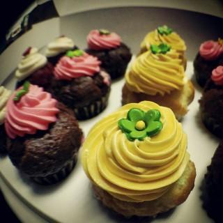 mini cupcakes -  dari Occubite Muffins & Coffee (Petaling Jaya (North)) di Petaling Jaya (North) |Klang Valley