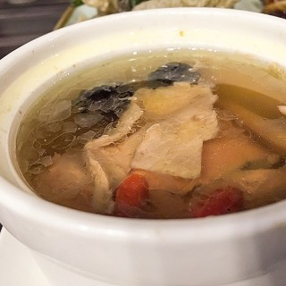 GInseng Chicken Soup part of the beef set with rice -  Somerset / 老北京面谱 (Somerset)|Singapore