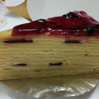 Blueberry cake - Orchard's First Love Patisserie (Orchard) Singapore