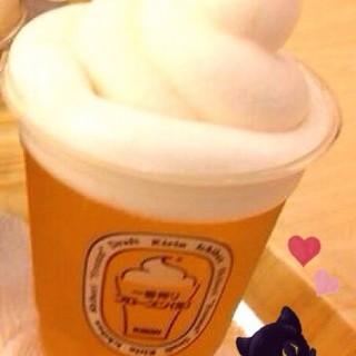 麒麟ㄧ番搾生啤酒+泡沫冰沙 -  dari KIRIN ICHIBAN GARDEN (北區) di 北區 |Taichung