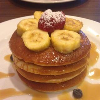 Butterscotch Pancake - 位于阿拉白沙羅的Mr. & Ms. Cafe (阿拉白沙羅) | 雪隆区