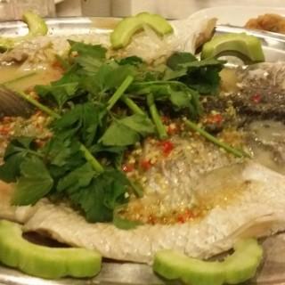 steamed fish - Kajang's Red Wok Restaurant (Kajang)|Klang Valley