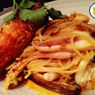 冬蔭海鮮意大利麵 - 位於大埔的泰贊- 創意泰餐廳 (大埔) | 香港