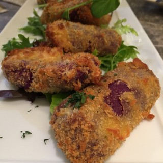 Sweet Potato Croquettes  - Central's LGB Cafe (Central)|Hong Kong