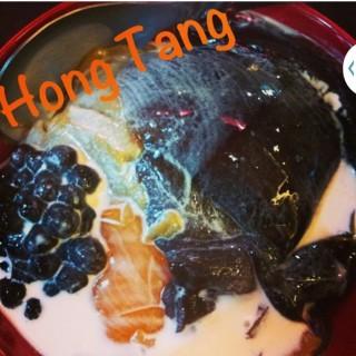 Grass Jelly Dessert -  dari Hong Tang (Sweet Poetry) (Slipi) di Slipi |Jakarta