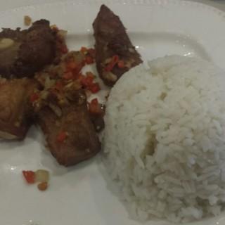 Salt and Pepper Spareribs - Banawe's Luck Garden Seafood Restaurant (Banawe)|Metro Manila