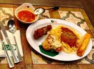 Italian Chicken, Stromboli and spaghetti -  Caloocan / Ristorante Bigoli (Caloocan)|Metro Manila
