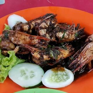 Udang goreng lada hitam - Pademangan's Seafood Aries 21 (Pademangan)|Jakarta