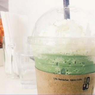 Green tea frappe -  dari Nikko Cafe (คลองตันเหนือ) di คลองตันเหนือ |Bangkok