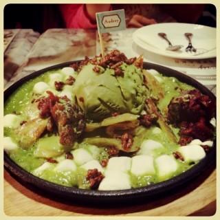 Green tea roti -  dari Petite Audrey (เปอตี๊ด ออเดรย์) (ปทุมวัน) di ปทุมวัน |Bangkok