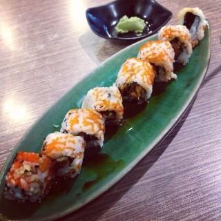 salmon skin roll sushi - Grogol's Ichiban Sushi (Grogol)|Jakarta