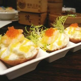 大蝦沙律香芒盞 - ใน九龍城 จากร้าน譚點王朝 (九龍城)|ฮ่องกง