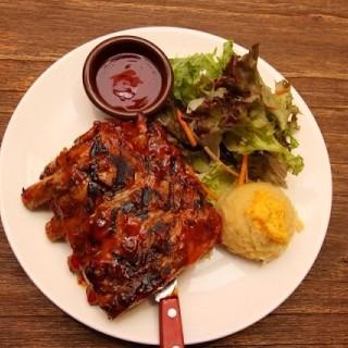 Pork Ribs -  dari Carnivor Barbeque Specialist (Pantai Indah Kapuk) di Pantai Indah Kapuk |Jakarta