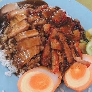 ข้าวหมูแดง -  dari Si Morakot (ตลาดน้อย) di ตลาดน้อย |Bangkok