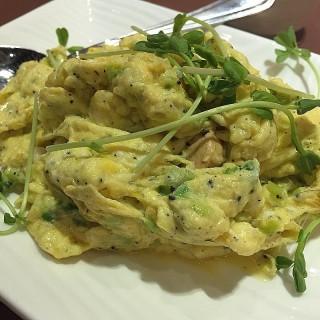 黑松露滑蛋炒蝦仁 - 位於元朗的緣來素食 (元朗)   香港