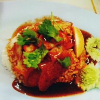 ข้าวหมูแดง -  dari ปฐมโภชนา 1 (อ.เมืองนครปฐม) di อ.เมืองนครปฐม |Bangkok