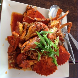 Buttered Crabs - Pasay's Claire dela Fuente Grill & Seafood (Pasay)|Metro Manila