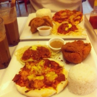 Chicken, Spaghetti and Pizza - North Avenue's Greenwich (North Avenue)|Metro Manila