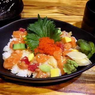角切魚生飯 -  dari 驚一日本料理餐廳 (石硤尾) di 石硤尾 |Hong Kong
