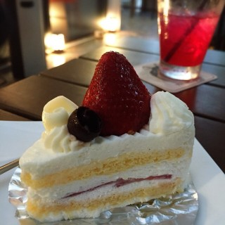 Strawberry shortcake - 位於สามเสนใน的True Love Café @ Neverland Siberians (สามเสนใน) | 曼谷