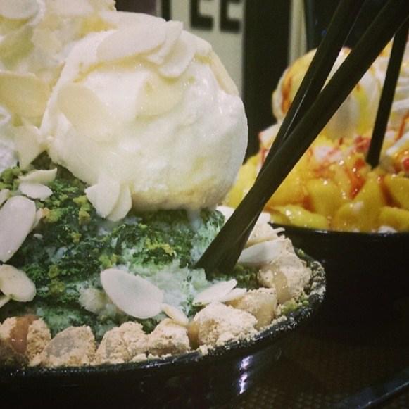 น้ำแข็งไส - Ok Bing Sul (โอ้คบิงซอล) - Dessert  Ice Cream - Lat Yao - Bangkok