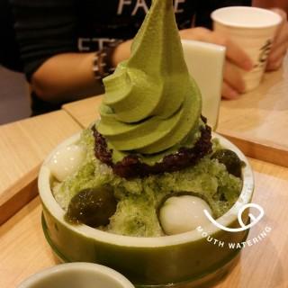 bamboo icecream -  dari Kyo Roll En (เคียว โรล เอ็น) (ปทุมวัน) di ปทุมวัน |Bangkok
