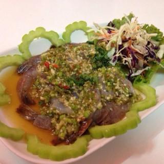กุ้งแช่น้ำปลา -  dari Ai Restaurant (สุเทพ) di สุเทพ  Chiang Mai