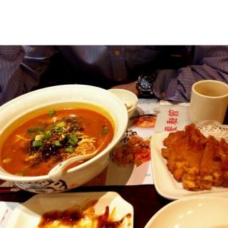 排骨擔擔麵 - 位於的夏麵館 (鑽石山) | 香港
