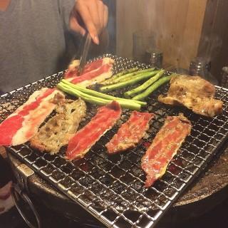 吃到飽烤肉! -  dari 田季發爺燒肉 (中壢區) di 中壢區 |Taoyuan
