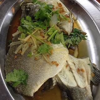 Steamed fish - Brickfields's Medan Selera Kheng Heong (Brickfields)|Klang Valley