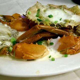 肉蟹花雕蒸蛋白 - 位於東涌的東昇樓海鮮酒家 (東涌) | 香港