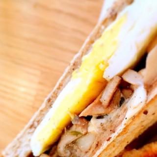 綜合野菇PANINI三明治 -   / 好拾日咖啡館 (桃園區)|桃園