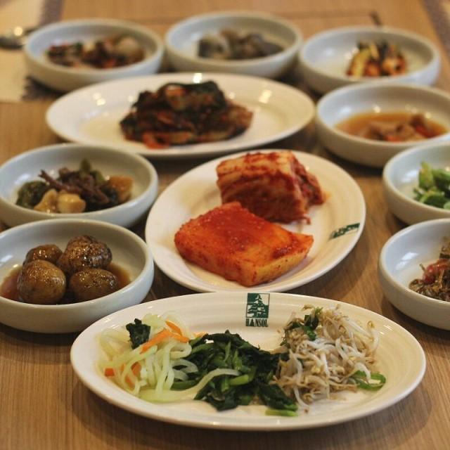 banchan - Sudirman's Hansol Korean Restaurant Restaurant - Jakarta