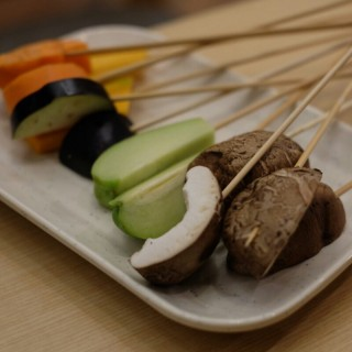 Vegetable + Mushroom Skewers - BSD City's Kushiya Monogatari (BSD City)|Jakarta