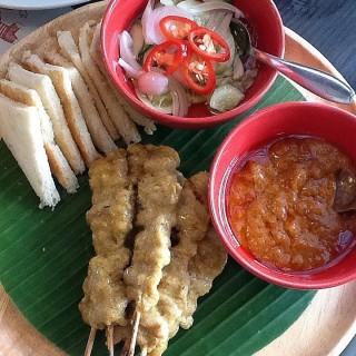 หมูสะเต๊ะ -  dari Savoey Seafood (ลาดพร้าว) di ลาดพร้าว |Bangkok