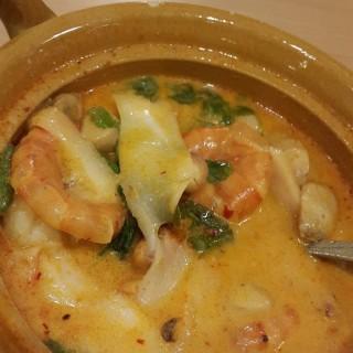 Seafood tom yam gong - 位於Pantai Indah Kapuk的Bangkok Garden Authentic Thai Restaurant (Pantai Indah Kapuk) | 雅加達