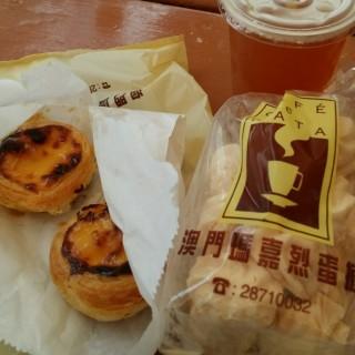 葡撻 -  dari Cafe e Nata Margaret's (新馬路) di 新馬路 |Macau