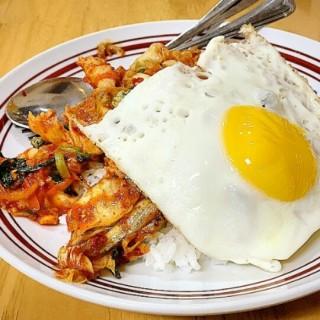 nasi babi kimchi -  dari Tong Tong (Dukuh Pakis) di Dukuh Pakis |Surabaya