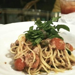 Salsiccia Pork Sausage Spaghetti -  dari Potato Head Jakarta (Sudirman) di Sudirman |Jakarta