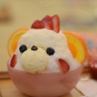 白熊 - ใน中環 จากร้าน沖繩海之家冰店 (中環)|ฮ่องกง